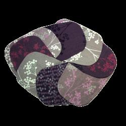 Couvre-poche fleuri